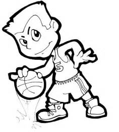 basketball coloring page basketball player coloring pages coloring part 4