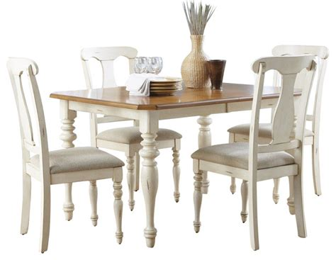 liberty furniture isle 5 72x38 dining room set