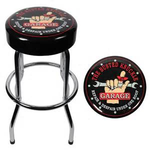 busted knuckle garage stool 004753r01 the home depot