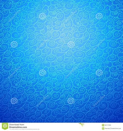 background design color blue wave seamless ornamental background in blue color royalty