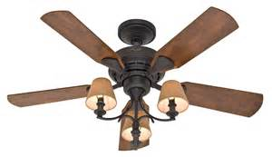 ceiling fan with shade medum