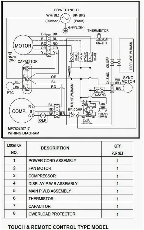 basic air conditioner compressor wiring diagram basic air