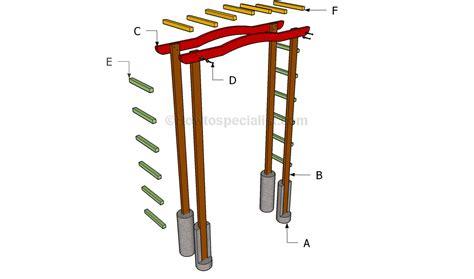 arbor building plans pdf diy diy wood arbor download diy shelf unit plans