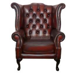 chesterfield genuine leather antique oxblood