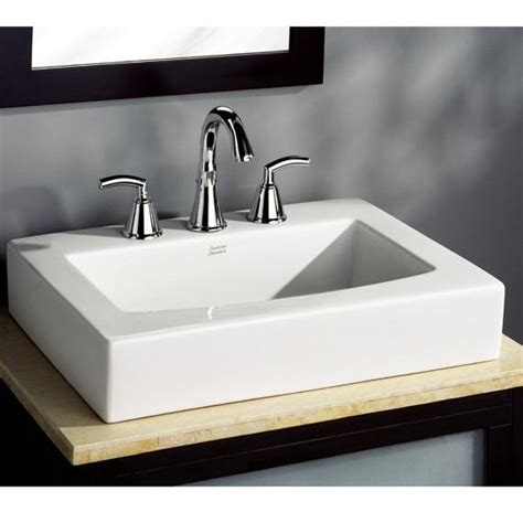 above counter bathroom sinks canada american standard bathroom sink boxe above counter
