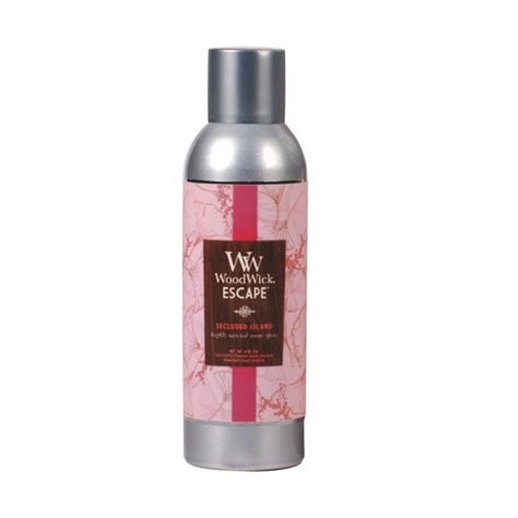 Room Fragrance by Secluded Island Room Fragrance Spray Woodwick Escape 6oz