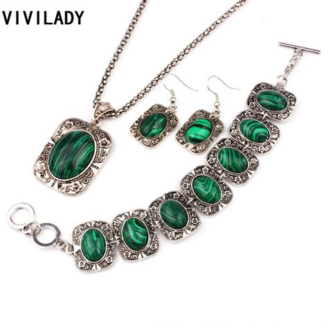 necklace roman Picture   More Detailed Picture about VIVILADY Vintage Silver Plated Jewelry Sets