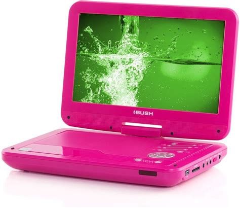 Store It Pro Review The Ultra Portable Pink Drive by Bush 10 Inch Portable Dvd Player Pink Tft Lcd Screen Dvd