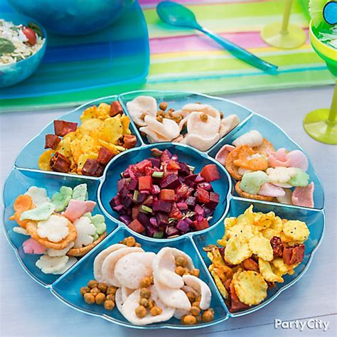 Fun Fall Decorating Ideas - pupu snack platter idea refreshing summer food and drink ideas summer party ideas theme