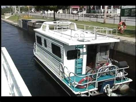 house boats ontario egan houseboats youtube