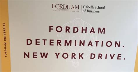 Fordham Time Mba by I Am A Fordham Ram Gabelli Dual Degree My Experience At
