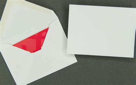 card envelope information packaging plain paper gift card envelope