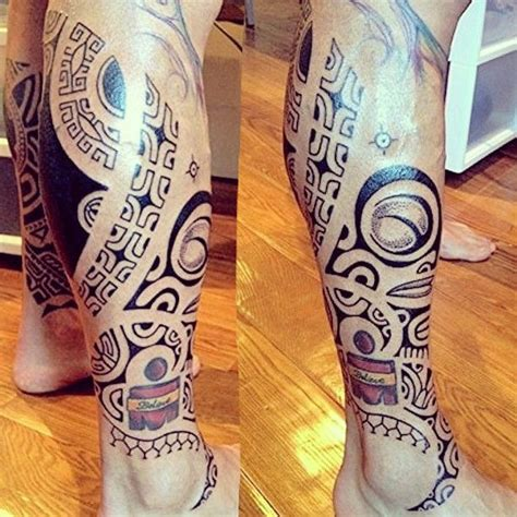 samoan tribal leg tattoos 516 best images about maori tattoos on