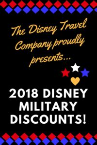 the 2018 disney military discounts have been announced
