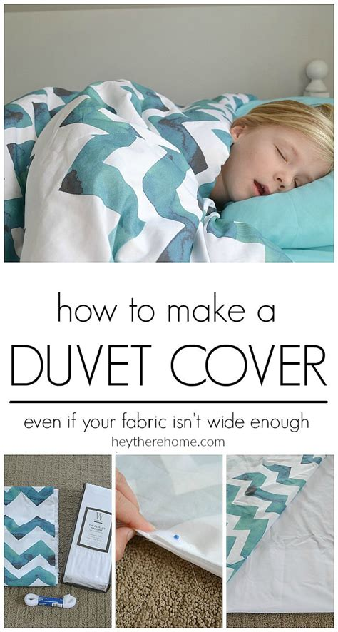 how to put on a comforter cover how to make a duvet cover