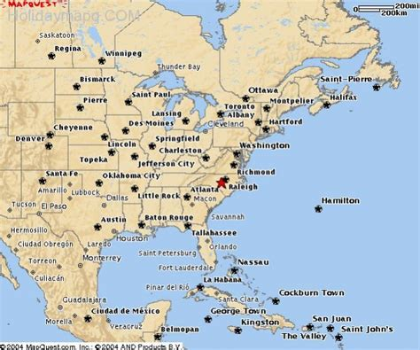 east coast in usa map map of east coast usa holidaymapq