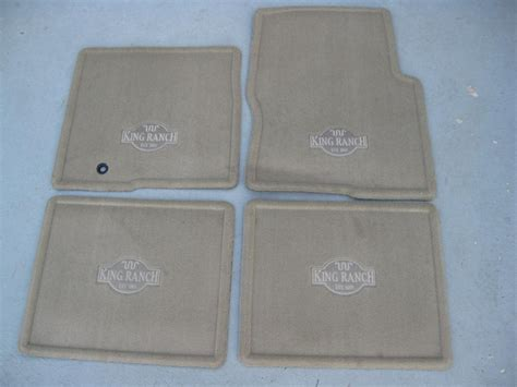 King Ranch Floor Mats by 2009 2010 Ford F150 King Ranch Carpeted Floor Mats 4