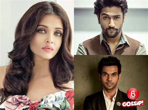 43 year pld bollywood acctresses aishwarya to romance rajkummar or vicky in fanney khan