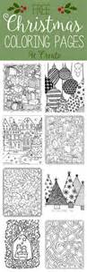 free christmas adult coloring pages u create bloglovin
