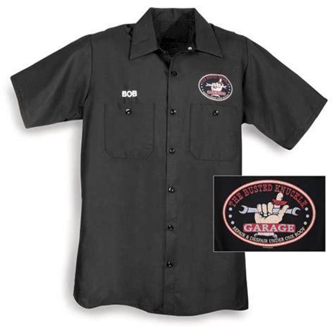 Custom Garage Work Shirts by Car Black Mechanic S Work Shirt