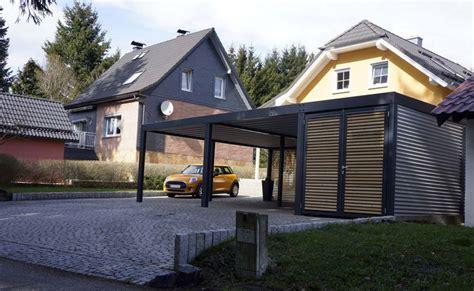 carport metall glasdach preis design metall carport aus stahl holz mit abstellraum wien