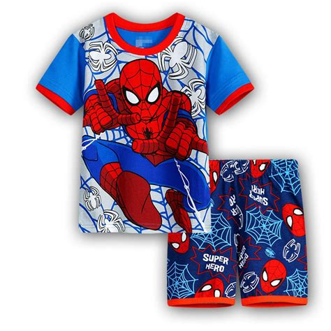 Piyama Boy Superman boy batman shirt set