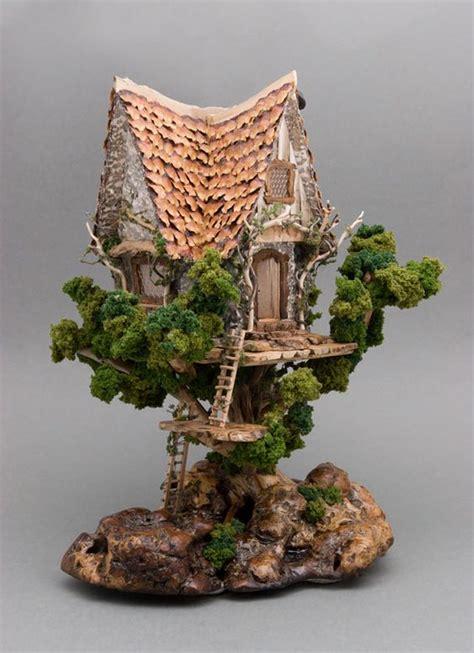 Miniature by Miniature Tree Houses Ideas To Mesmerize You Bored Art