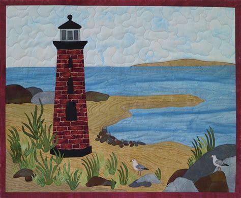 Landscape Quilt Images Lighthouse Exle Quilts Landscape Quilts