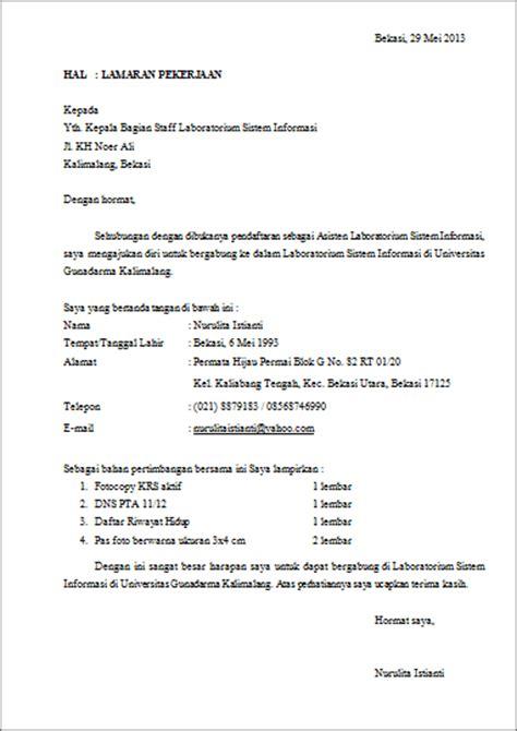 contoh surat lamaran kerja lewat email 10 contoh 36