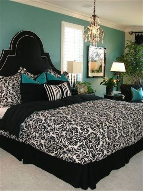 turquoise walls bedroom turquoise wall with black white for the bedroom juxtapost