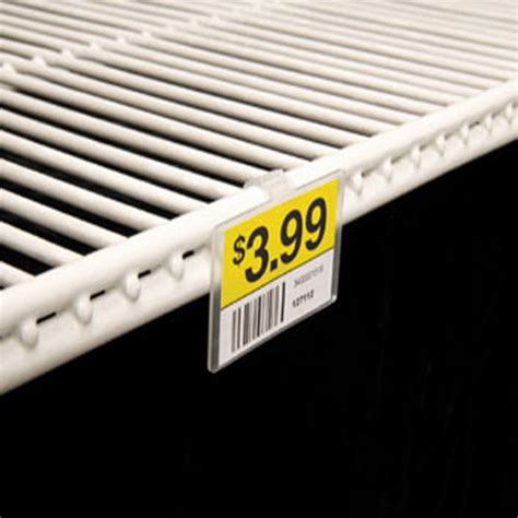 Wire Rack Label Holders by Label Holder For Wire Freezer Cooler Shelf Discount Shelving