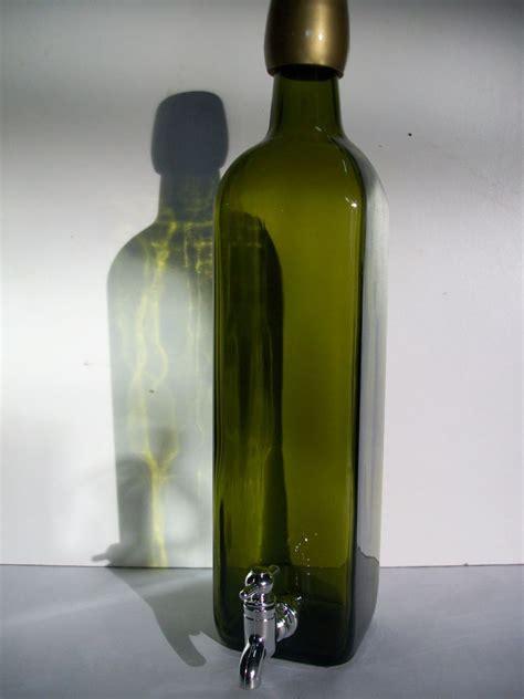 bottiglia con rubinetto bottiglia olio 750 gr con rubinetto enotecnica albese