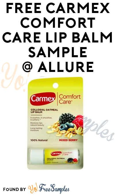 comfort care only free carmex comfort care lip balm sle verified