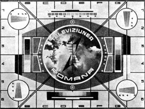 tv test pattern watch romanian television test card youtube