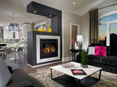 tv in the middle of the living room 12 id 233 es pour int 233 grer une chemin 233 e double face dans votre salon bricobistro