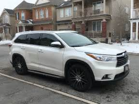 Toyota Highlander Forum If You Custom Wheels What Size Do You Toyota