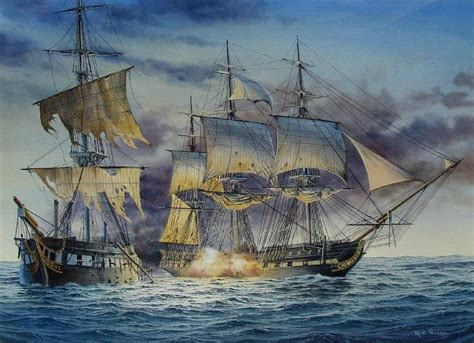 centurion boats charlotte oil painting of the uss constitution and the hms guerriere