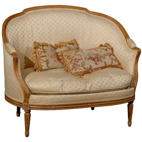 small settees small french settee at 1stdibs