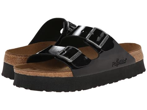 birkenstock platform sandals birkenstock arizona platform by papillio zappos free