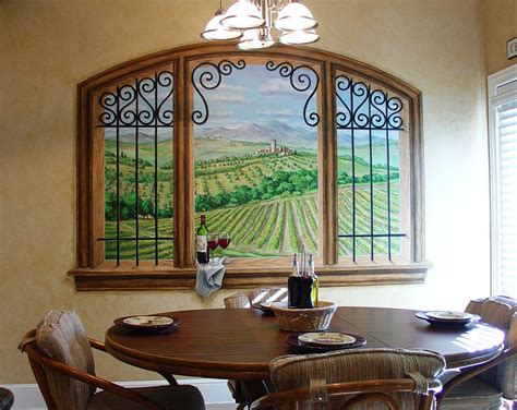 dining room wall murals wall murals gregory arth