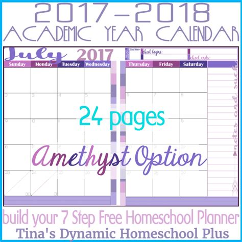 Calendar 2018 2 Months Per Page 2017 2018 Academic Calendar 2 Pages Per Month Amethyst