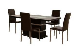 Dining Table 4 Chairs 71 Inch Rectangle Dining Table With 4 Chairs Dining Sets