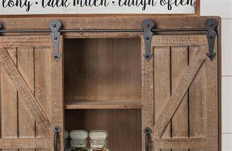 barn door wall cabinet wooden sliding barn doors storage cabinet