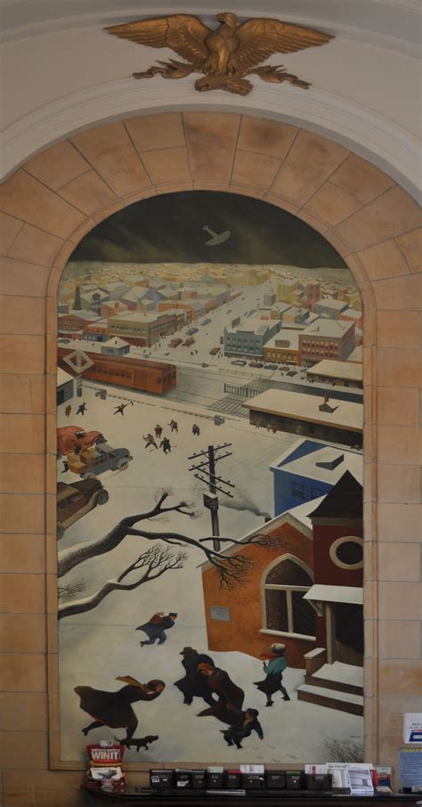 list of united states post office murals