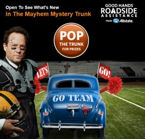 the allstate quot mayhem mystery trunk quot instant win - Allstate Mayhem Sweepstakes