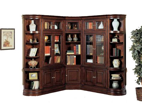 corner wall unit espresso bookcase ebay