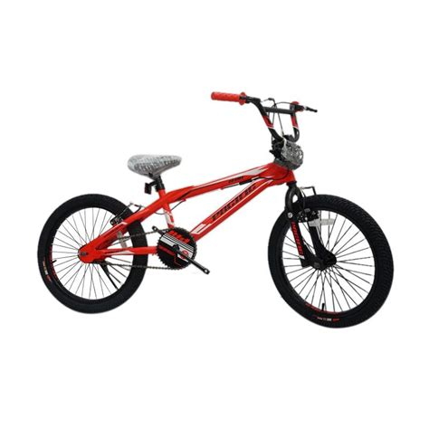Sepeda Bmx Anak Pacific Plazzo 20 Inchi jual pacific toxic tx 05 sepeda bmx 20 inch harga kualitas terjamin blibli