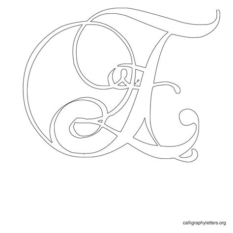 caligraphy template printable calligraphy letter stencils calligraphy