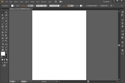 illustrator ui tutorial adobe illustrator tutorials mengenal interface menu dan