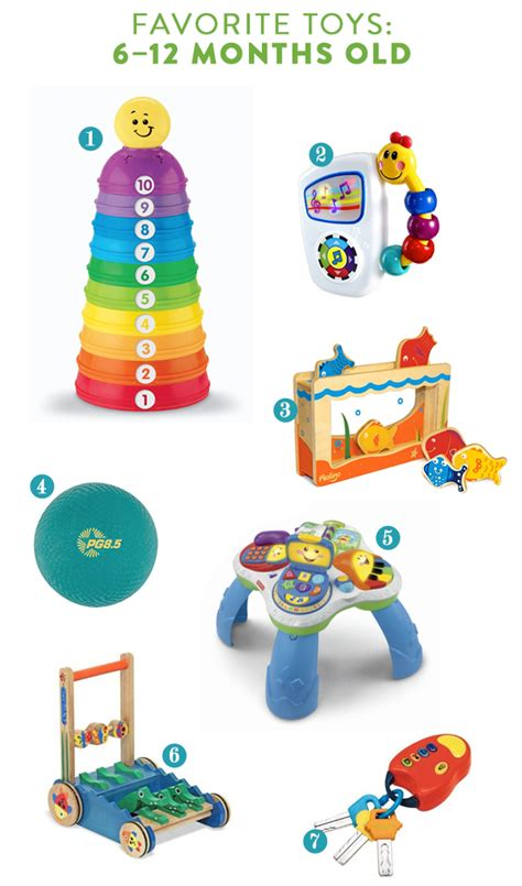 toys for 12 month old babies